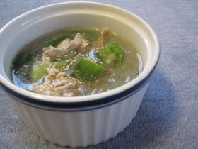 妊婦に優しい春雨スープ