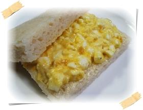 小麦卵不使用☆偽卵と米粉でサンドイッチ♪