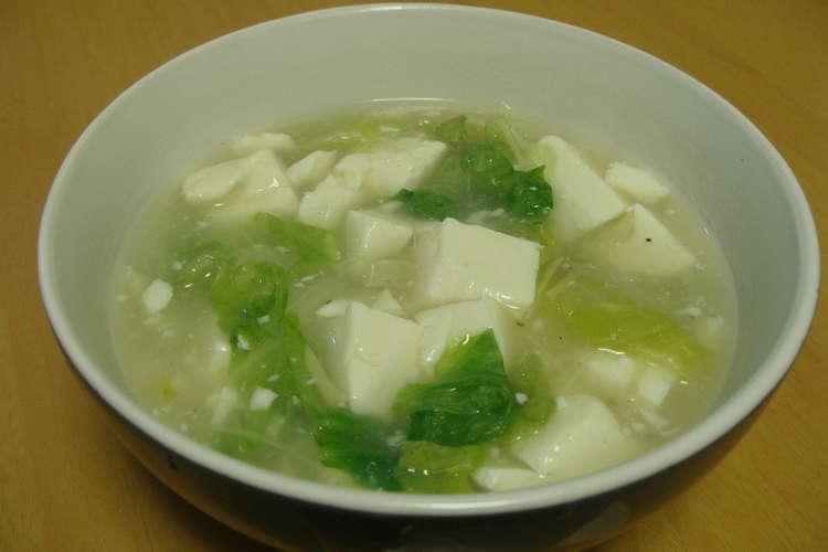 レタス スープ