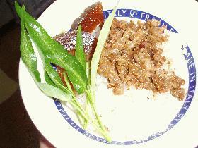 台湾屋台の魯肉飯(ルーロファン)