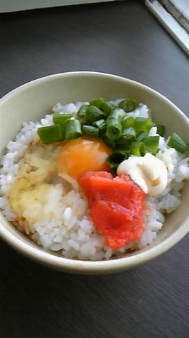 大好き♡明太子マヨの卵かけご飯♬