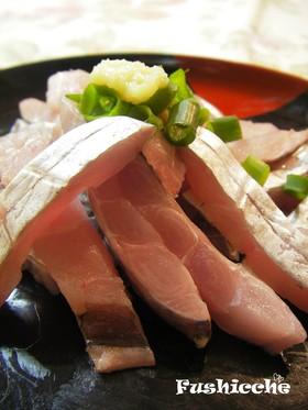 極上♡太刀魚のお刺身