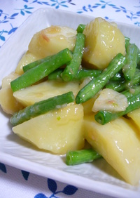 春野菜の味噌バター炒め