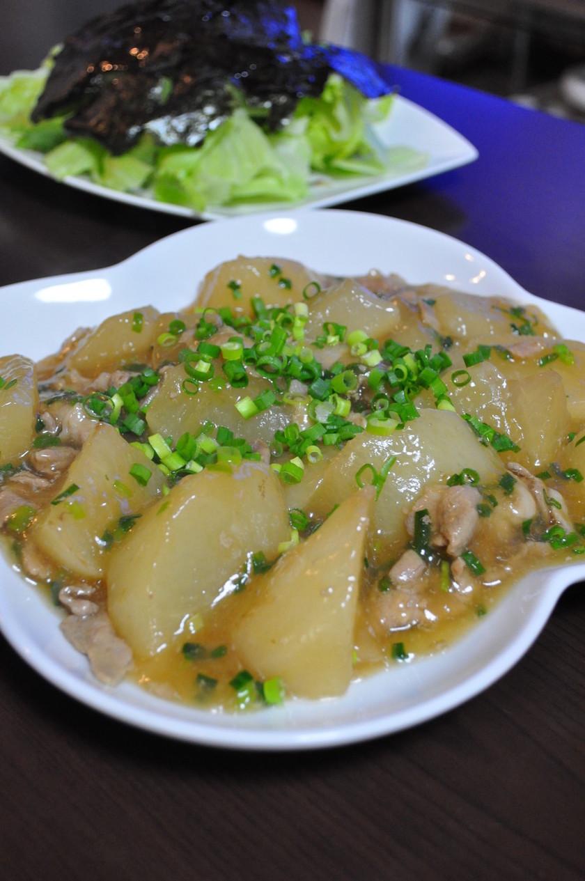 とろ~り★大根と豚肉の中華炒め煮