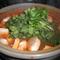 鯖やサーモン~きのこたっぷり本格キムチ鍋