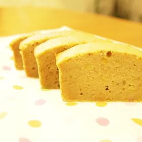超簡単!もちもち米粉のバナナケーキ☆