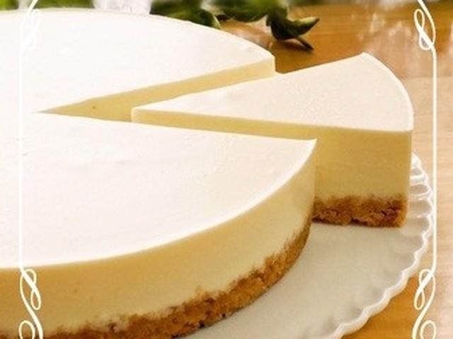 簡単 レアチーズ ケーキ レシピ