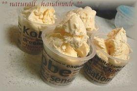簡単材料3つ☆ホイップクリームでアイス