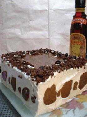 プレゼントチョコケーキ