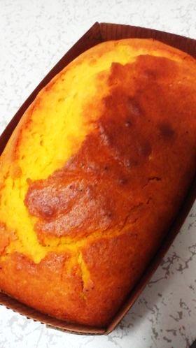 ホットケーキミックスでかぼちゃのケーキ