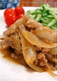 玉ねぎも一緒に✿豚の生姜焼✿