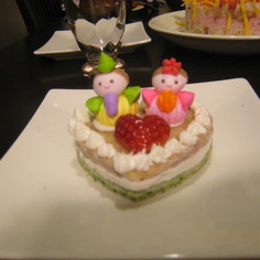 離乳食 ひなまつり菱餅ケーキ