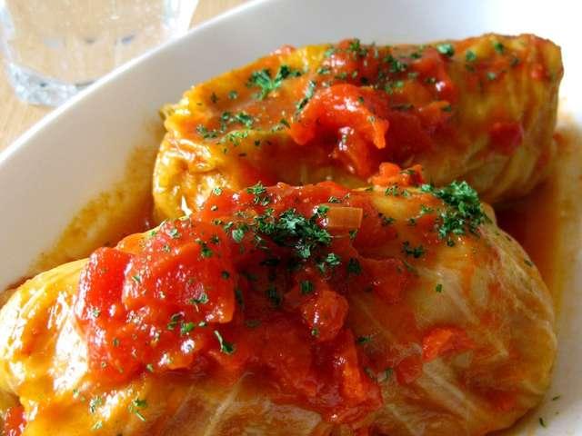 ロール キャベツ トマト 煮込み
