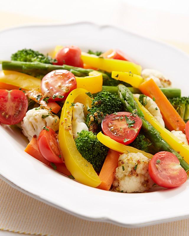 温野菜のハニーソースサラダ