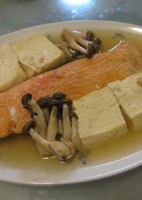 やさしい鮭の煮物