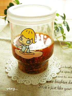 ♥我が家の「食べるラー油」もどき♥