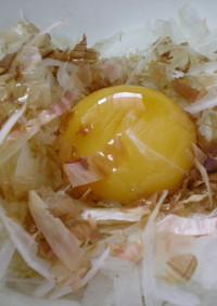 新たまねぎの卵黄和え