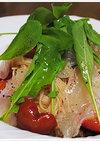 鯛のカルパッチョ風冷製カペッリーニ