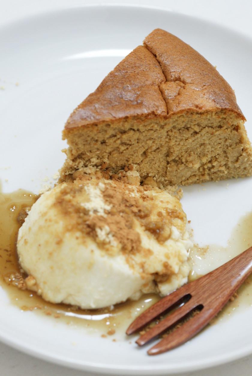 黒糖☆きな粉☆チーズケーキ