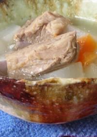 台湾家庭料理☆大根&スペアリブのスープ
