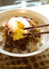 ●10分で簡単☆柔らかお肉の牛丼&豚丼●