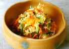 *人参と胡瓜&卵の「酢の物風」サラダ*