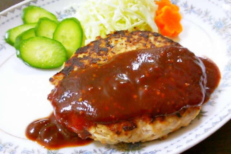 ハンバーグ 高野 豆腐