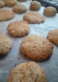 大麦粉クッキー