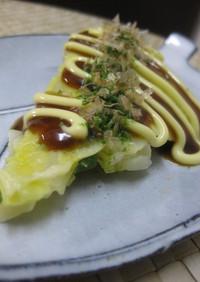 ルクエ★ノンオイルの野菜お好み焼き