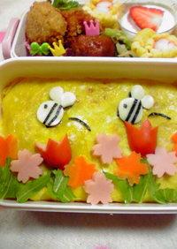 お花畑みたいなお弁当♪