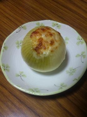 玉ねぎ丸ごとチーズ焼き