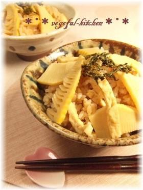 春の味覚❀麺つゆダケで簡単♪筍ごはん❀