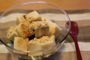 ダイエット中のおやつ♪豆乳くず寒天の写真