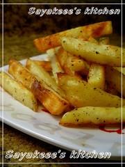 ♥焼くだけ♡オーブンでフライドポテト♥の写真