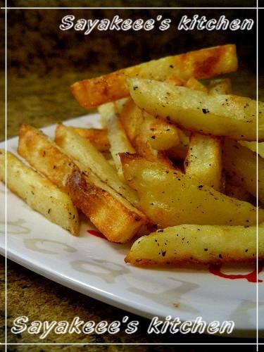 ♥焼くだけ♡オーブンでフライドポテト♥