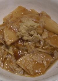 筍の中華風湯葉煮