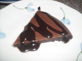 超簡単!濃厚大人のチョコケーキ☆炊飯器で