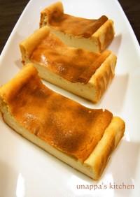 簡単!バナナチーズケーキ(卵不使用)
