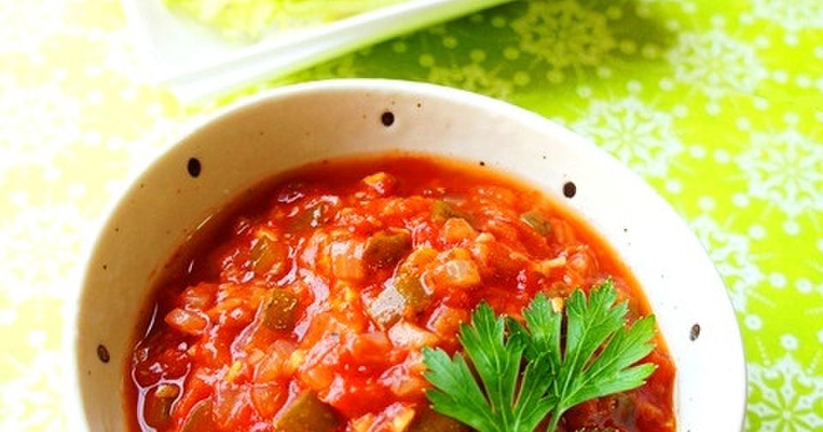 辛ウマ《サルサソースの作り方》メキシコ料理の必需品!?