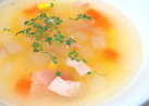 大根入り野菜コンソメスープ