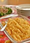トルコ料理☆引割り小麦・ ブルグルピラフ