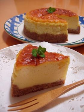 簡単*ヘルシー❤ 豆乳チーズケーキ♪