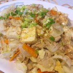 沖縄'n炒め物♡豆腐ちゃんぷるー♡