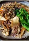 牛肉と舞茸のきんぴらふう