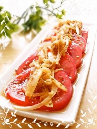 ☆新玉ねぎとトマトのサラダ☆