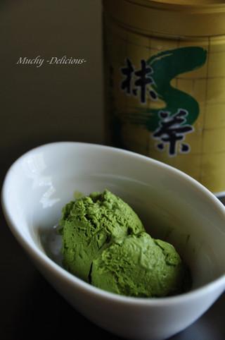 生卵不使用❤簡単濃厚抹茶アイスクリーム