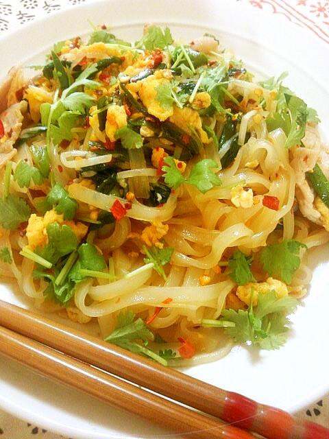 簡単!タイ料理 パッタイ【ver.UP】