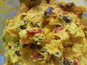 カボチャと小豆+ナッツの美肌サラダ