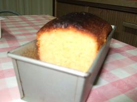 HMサラダ油で卵たっぷりパウンドケーキ