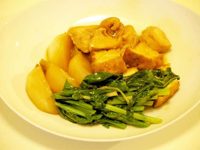 鶏肉 かぶ 煮物